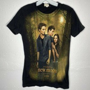 Twilight  New Moon Edward  V-Neck Drape T-Shirt